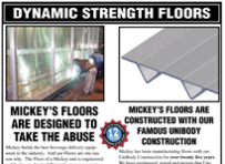 Mickey's Dynamic Strength Floors Information SheetCollaterals